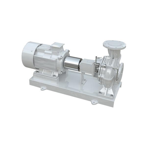 QFEKR高效供暖热水端吸泵(悬架式)