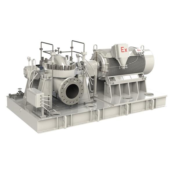 QFHDS重载轴向剖分双吸离心泵